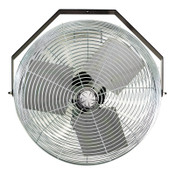 TPI Corp. Work Station Fans, Stationary Direct Drive Rotating, 18 in, 1/8 hp, 3-Speed, 1 EA, #U18TE