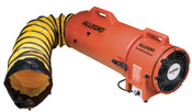 Allegro Plastic Com-Pax-Ial Blowers w/Canisters, 1/3 hp, 115 VAC, 15 ft. Ducting, 1 EA, #953315