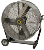 Airmaster Fan Company Portable Belt Drive Mancoolers, 3 Blades, 36 in, 660 rpm, 1 EA, #70005
