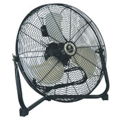 TPI Corp. Commercial Floor Fans, 18 in, 1/5 hp, Steel, 1 EA, #CF18