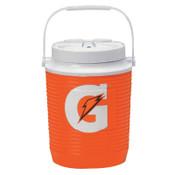 Gatorade Water Coolers, 1 gal, Orange, 1 EA, #4901513