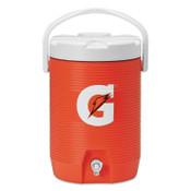 Gatorade Beverage Cooler, 3 gal, Orange/White, 1 EA, #4920009