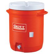 Newell Rubbermaid Water Coolers, 10 gal, Orange, 1 EA, #1610ISORAN