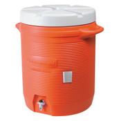 Newell Rubbermaid Water Coolers, 5 gal, Orange, 1 EA, #1840999