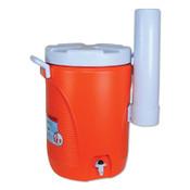 Newell Rubbermaid Water Coolers, 5 gal, Cup Holder, Orange, 1 EA, #1841106