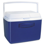 Newell Rubbermaid Victory 24 qt Cooler, Modern Blue, 1 EA, #2A1304MODBL