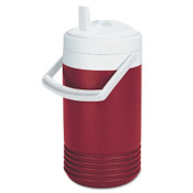 Igloo Red Legend Coolers, 1 gal, Diablo Red; White, 1 EA, #2204