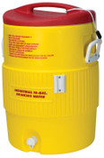 Igloo Heat Stress Solution Water Coolers, 10 Gallon, Red and Yellow, 1 EA, #48154