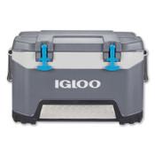 Igloo BMX, 52 qt Cooler, Cabonite/Gray, 1 EA, #49783