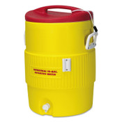 Igloo 400 Series Coolers, 10 gal, Red, Yellow, 1 EA, #765