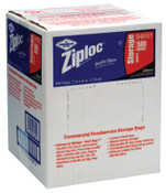 Diversey Ziploc Commercial Resealable Bags, Quart, Plastic, 1/CA, #SJN682256