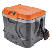 KLEIN TOOLS Tradesman Pro Tough Box Cooler, 17 qt, Gray, 1 EA, #55600