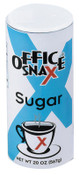 Office Snax Sugar Canisters, 20 oz Canister, 24/CA, #OFX00019CT