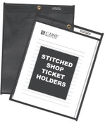 C-Line Products, Inc. Shop Ticket Holders Clear- 8-½ x 11, 25/BX, #CLI46911
