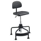 SAFCO/PRODUCTS/COMPANY Chair-Hirange-Indust-Bk, 1/EA, #SAF5117