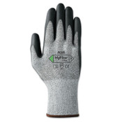 Ansell HyFlex 11-435 Cut-Resistant Gloves, Size 10, Black; Heather Gray, 12 Pair, #111052