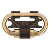 Capital Safety Nano-Lok Twin-Leg Connectors, 420 lb, 4.3 in, Gold, 1/EA, #3100087