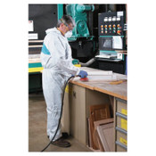 3M Disposable Protective Coverall 4520 Series, Teal/White, X-Large, 25/CA, #7000088988