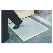 Crown Mats and Matting Replacement Pads, 24 in x 30 in, 1/8 in, Gray, 1/CA, #CWNWCRPLPAD