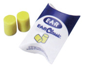 3M E-A-R Classic Foam Earplugs 310-1001, PVC, Yellow, Uncorded, Pillow Pack, 200/BX, #7000002299