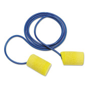 3M E-A-R Classic Plus Foam Earplugs 311-1105, PVC, Yellow, Corded, 200/BX, #7000127207