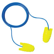3M E-A-Rsoft Grippers Earplugs 312-6001, Polyurethane, Yellow, Corded, 200/BX, #7000127654