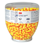 3M E-A-R Classic SuperFit Dispenser Refill Earplugs 391-1002, PVC, Orange/Yellow, Uncorded, 500/BO, #7100001857