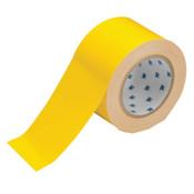 Brady ToughStripe Floor Marking Tape, 3 in x 100 ft, Yellow, 1/RL, #104342