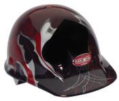 Honeywell FMX Hard Caps, 8 Point Ratchet, Demon Graphics, 1/EA, #E2RWX2