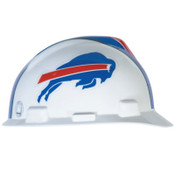 MSA Officially-Licensed NFL V-Gard Helmets, 1-Touch, Buffalo Bills Logo, 1/EA, #818387