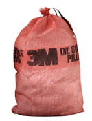 3M Petroleum Sorbent Pillows, Absorbs 3.5 gal, 24.38 in x 27.46 in, 10/BAL, #7100003891