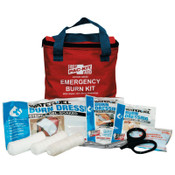 First Aid Only Water Jel Soft Pouch Burn Kit, 15 Pieces, 8 x 7 x 3, 12/CS, #3030
