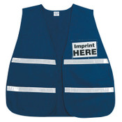 MCR Safety Incident Command Vests, Universal, Blue, 1/EA, #ICV203
