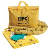 Brady SPC Economy Portable Spill Kit, BRIGHTSORB, 5 gal, 1/KT, #SKCHPP