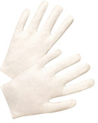 West Chester Inspector's Gloves, 100% Cotton, Men's Large, 12 Pair, #805L