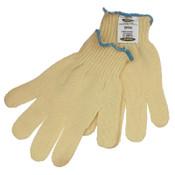 Ansell GoldKnit Heavyweight Gloves, Size 9, Yellow, 12/DZ, #103774