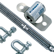 Capital Safety Zorbit Energy Absorber Kits, Up to 60 ft Lifeline, Shackles/Fasteners/Turnbuckle, 1/EA, #7401032