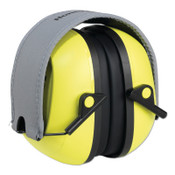 Honeywell VeriShield 100 Series Passive Earmuffs, VS120FHV, 27 NRR, Hi -Viz Yellow, 1/EA, #1035106VS