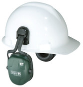 Honeywell Thunder Earmuffs, 25 dB NRR, Dark Green, Cap Attached, 1/EA, #1011602