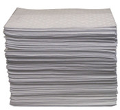Anchor Products Oil-Only Sorbent Pads, Heavy-Weight, Absorbs 20.5 gal, 15 in x 17 in, 1/BA, #ABBPO100
