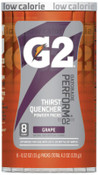 Gatorade G2 Powder Packets, Grape, 0.52 oz, Packet, 1/CA, #13167