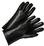 Anchor Products 12 in Long PVC Coated Gloves, Black, 12 Pair, #1027