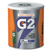 Gatorade G2 Powder, Grape, 19.4 oz, Canister, 3/CA, #13443