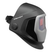 3M Speedglas 9100 Series Helmets, 5; 9100V, Black/Silver, 1.8 in x 3.7 in, 1/EA, #7010340590