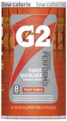 Gatorade G2 Powder Packets, Fruit Punch, 0.52 oz, Packet, 1/CA, #13168