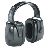 Honeywell Thunder Earmuffs, 30 dB NRR, Black, Over the Head, 1/EA, #1010970H5