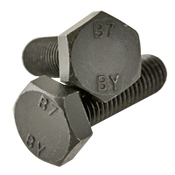 "1""-8x4-1/2 Partially Threaded A193 Grade B7 Heavy Hex Bolts Plain (30/Bulk Pkg.)"