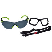 3M Premium Protective Eyewear Anti-Fog Safety Glasses , Clear Lens Color, 20/CA, #7100079186