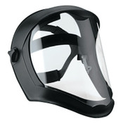 Honeywell Bionic Face Shields, Polycarbonate, Anti-Fog/Hardcoat Visor, Clear/Black Matte, 1/EA, #S8515