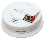Kidde Interconnectable Smoke Alarms, With Hush and Front Battery, Ionization, 6/CA, #21006376